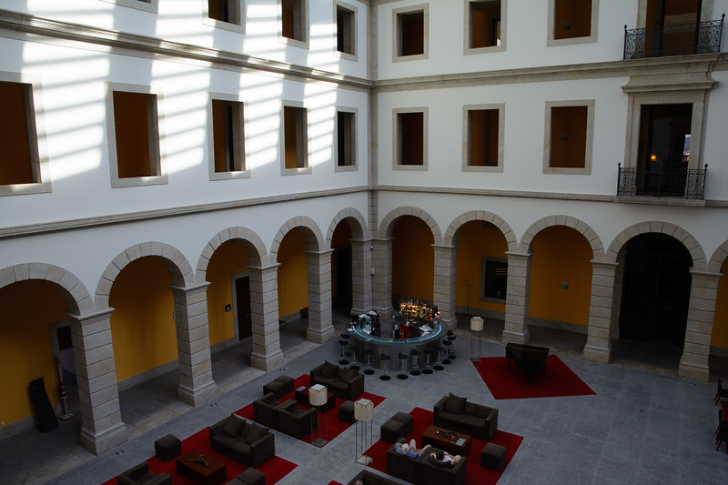 We finally arrived at Pousada Viseu, formerly a hospital but thoroughly restored in the early 1990s.
