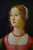 Portrait of a Young Woman, Domenico Ghirlandio, circa 1490