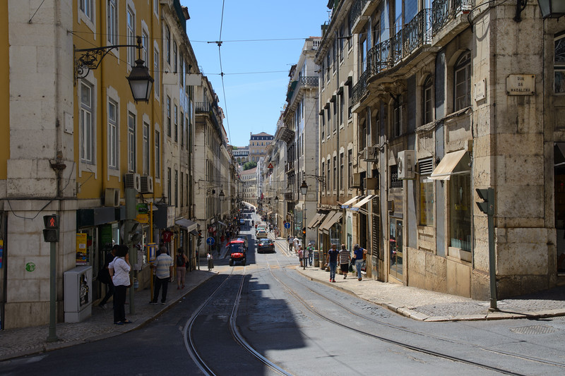 We started in Lisbon, where our first tromp was up the hill to the Castle of Saint George.