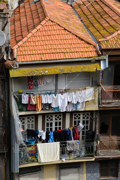 Paula seemed embarrassed by the laundry everywhere.  She claimed they had dryers in the suburbs.