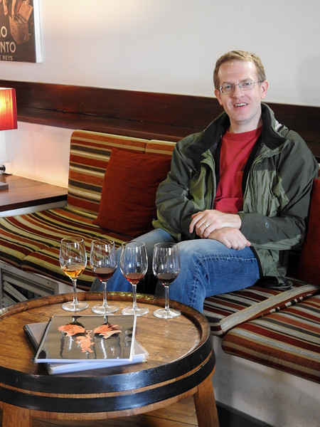 After lunch, we went to Ramos Pinto where we did a port tasting and realized that 20 year tawny was our drink of choice.