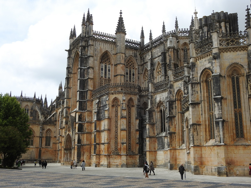 From there, we drove to Batalha, a Dominican abbey that is a masterpiece of Portuguese Gothic architecture.