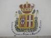 The royal arms of Portugal and Savoy (Queen Maria Pia).