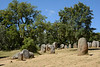 Above is the Cromlech of the Almendres, the largest grouping of such prehistoric stones on the Iberian Peninsula.