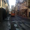 Typical Lisbon street view