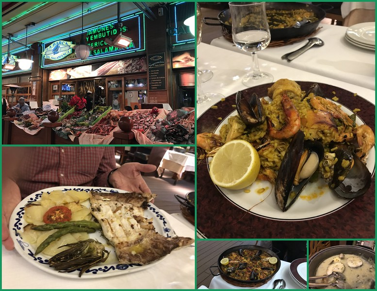 Barcelona's finest seafood with friends - Life is good !!