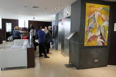 Lobby of hotel Zenit Lisboa (Rua Filipe Folque, 46