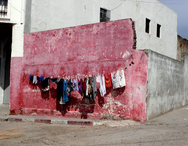 Laundry Wall in Tanger