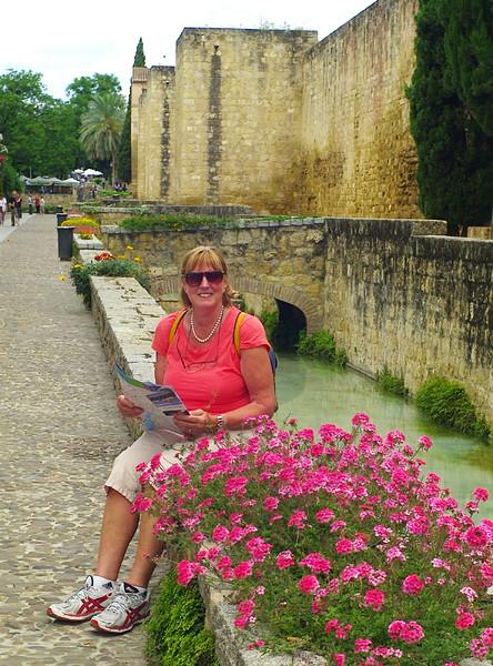 City walls and moat, Granada.