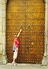 Studded door in Cordoba.