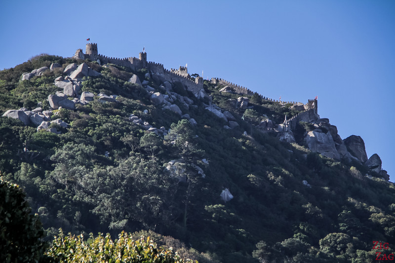 views of Castle of the Moors Sintra 2