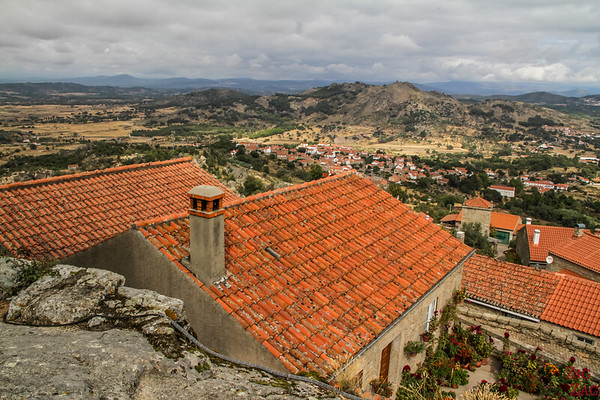 Monsanto Village Portugal -vue sur la vallée