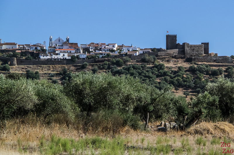 View of Monsaraz Alentejo Portugal