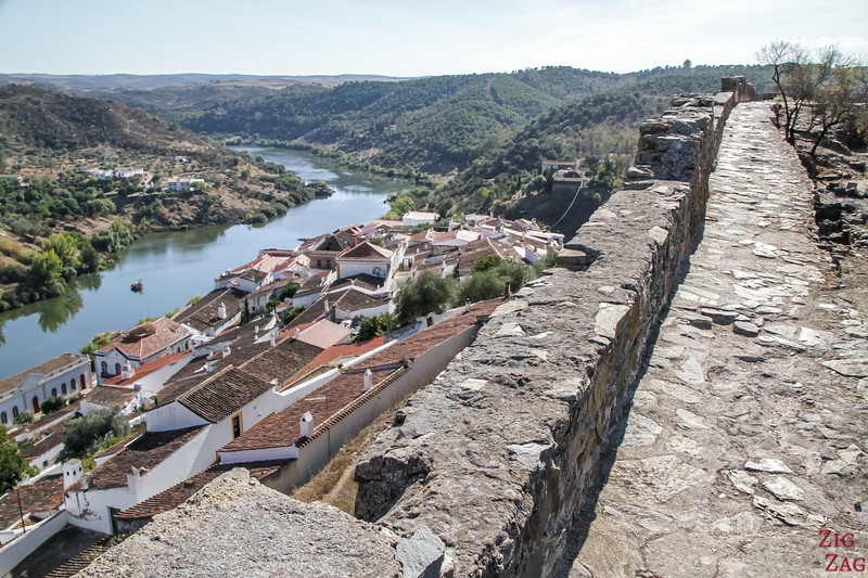 Castle of Mertola Portugal 1