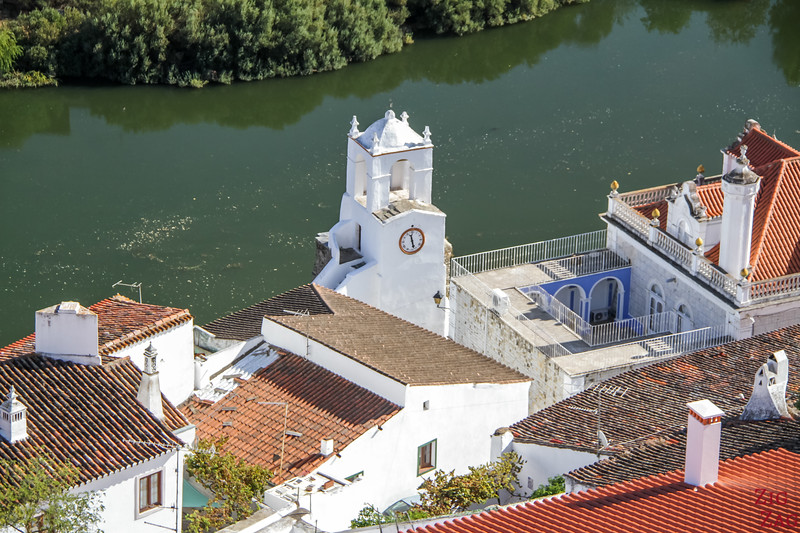 Views from Castle of Mertola portugal 2