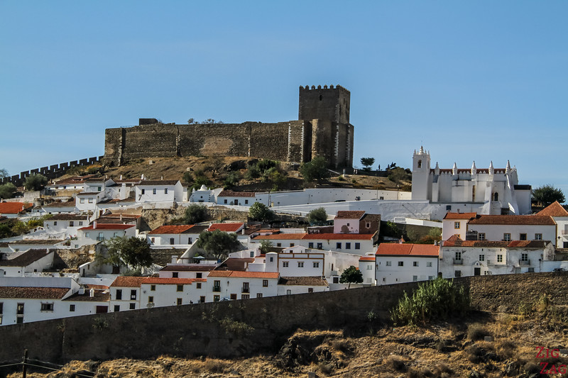 View of Mertola Portugal 3