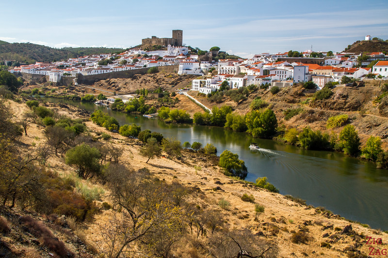 View of Mertola Portugal 1