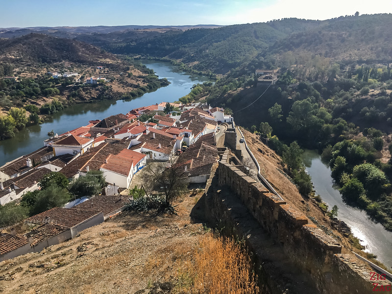 Views from Castle of Mertola portugal 3