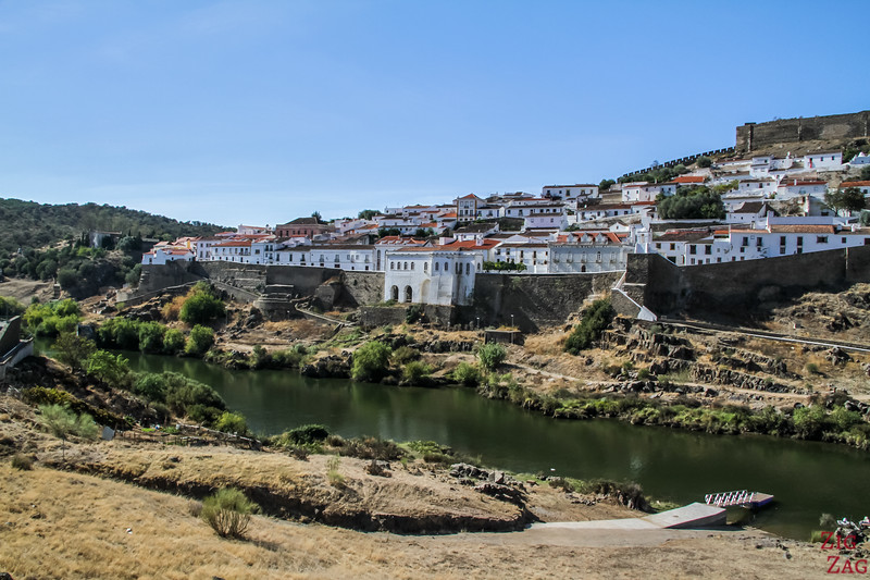 View of Mertola Portugal 4