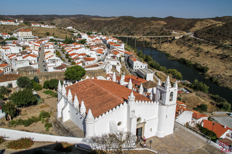 Views from Mertola Castle portugal
