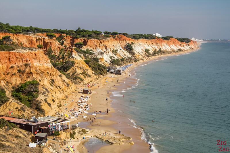 Praia da Falesia viewpoint