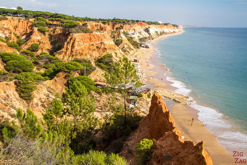 Falesia beach viewpoint