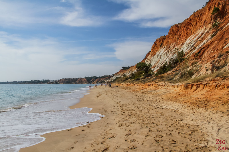 Cliffs of Falesia Beach Portugal 2