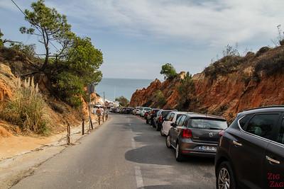 Parking plage de Falesia