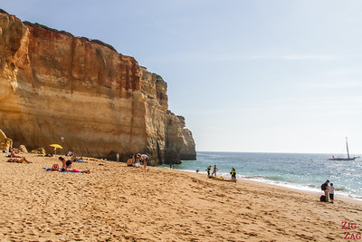 Benagil beach Algarve POrtugal