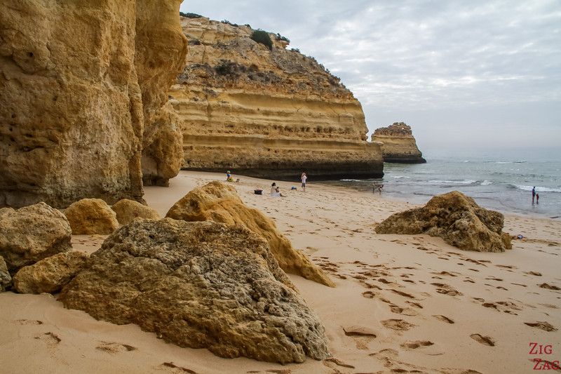 Sand at Marinha Beach Algarve 2