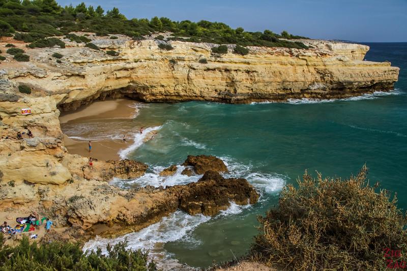 Praia da Albandeira plage algarve
