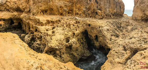 Algar Seco Algarve Blow Hole 7