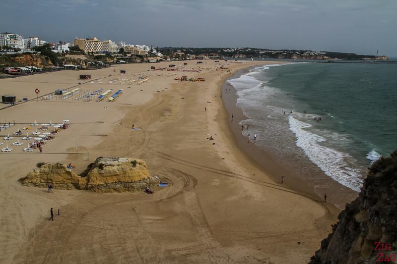 Que faire en Algarve - Praia da Rocha