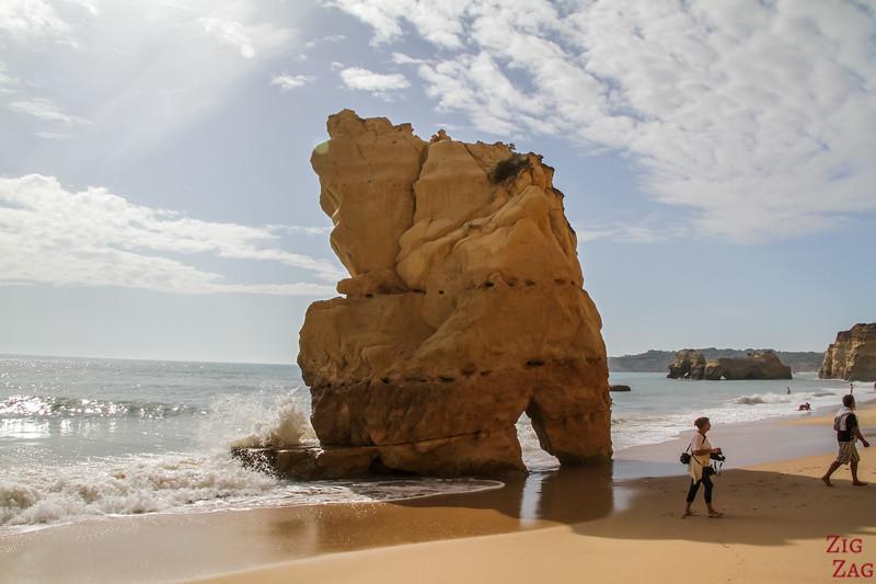 Things to do in Algarve - Praia dos Tres Castelos Beach