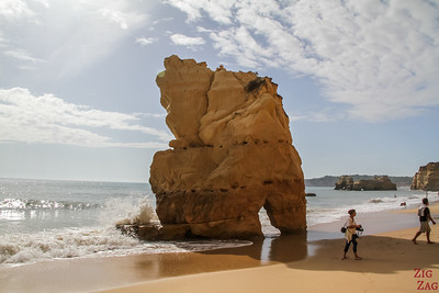 Things to do in Algarve - Praia dos Tres Castelos Beach