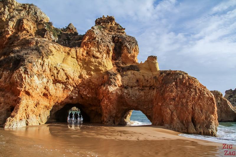 Praia dos Tres Irmaos Beach Algarve plage