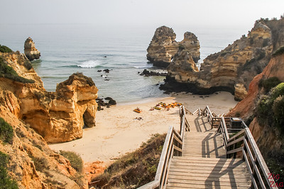 Praia do Camilo beach Algarve must see