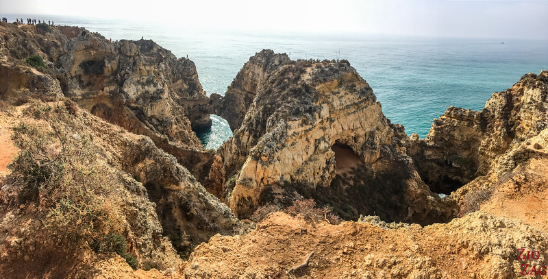 Ponta da Piedade on foot 3
