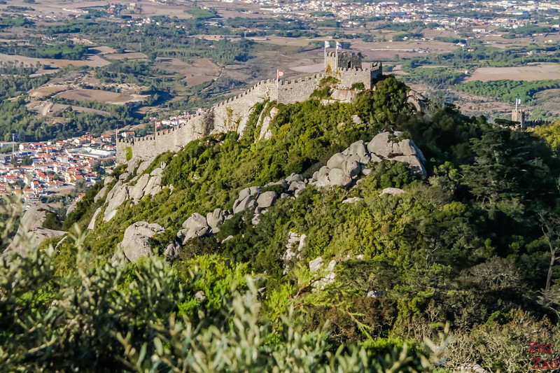 views of Castle of the Moors Sintra 1