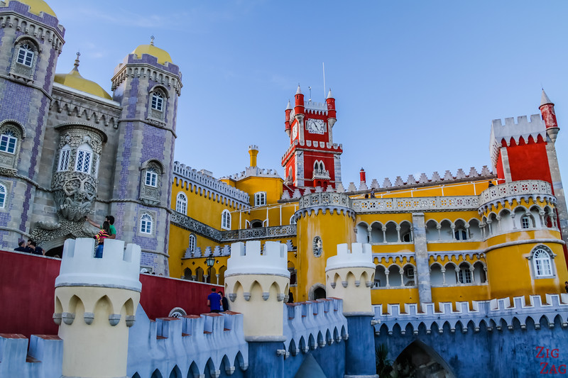 Que visiter au Portugal - Best Palaces in Portugal - Pena