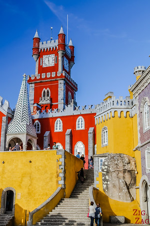 Travel Portugal Sintra Pena Palace - Portugal Travel - Portugal Things to do 2