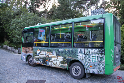 bus access to Pena Palace Sintra