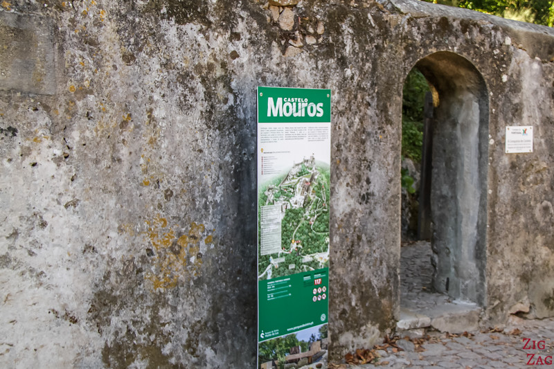 Walk to Sintra Castle of the Moors 1