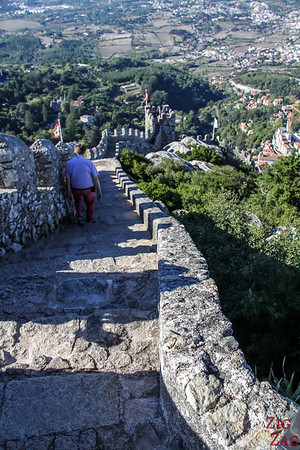 Sintra Castle of the Moors visit 6