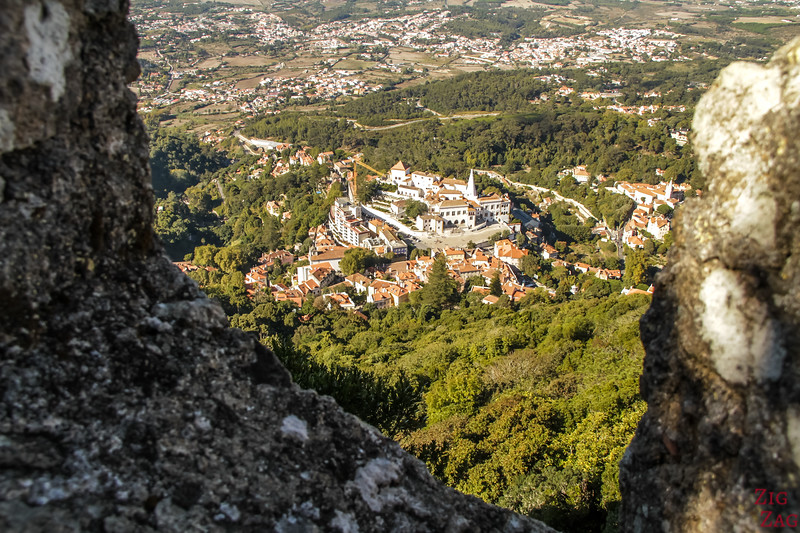 Views from Castle of the Moors Sintra Portugal 1