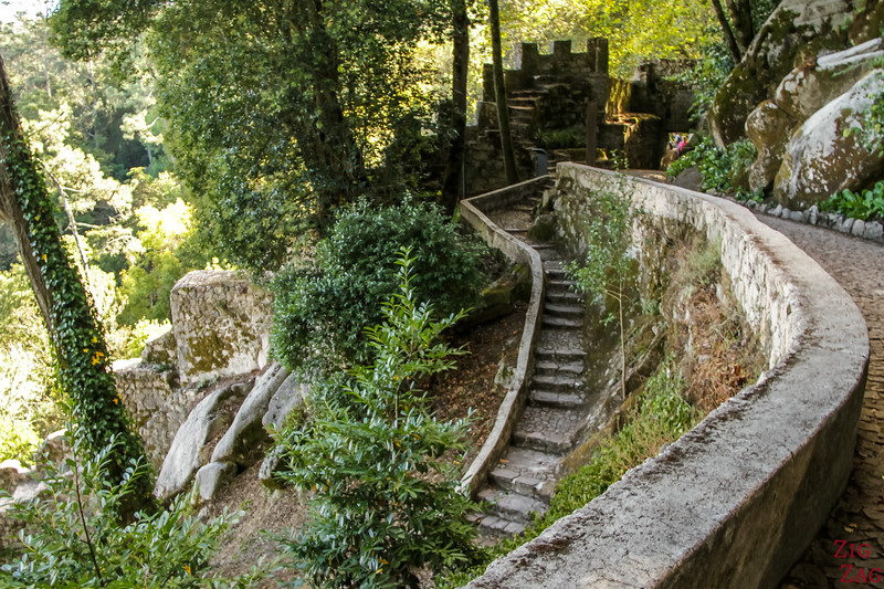 Walk to Sintra Castle of the Moors 3