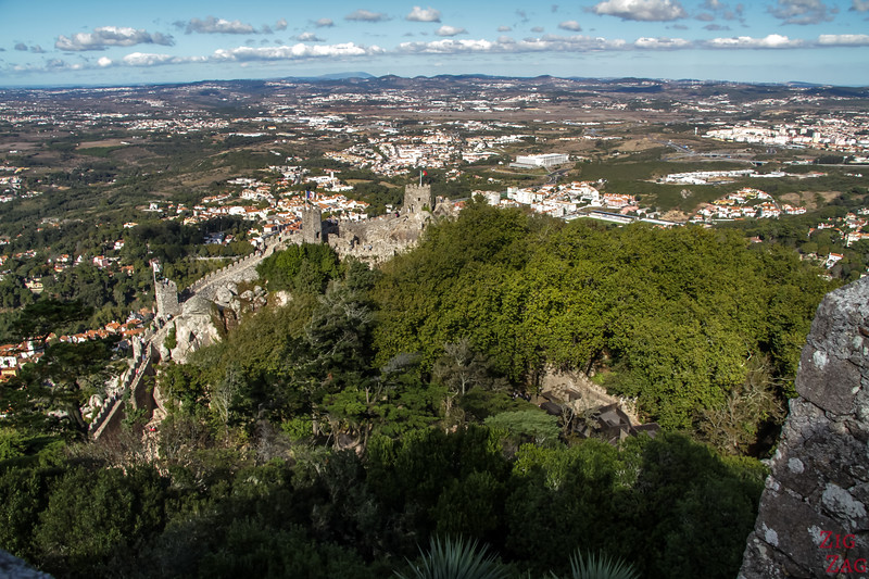 Sintra Castle of the Moors visit 5