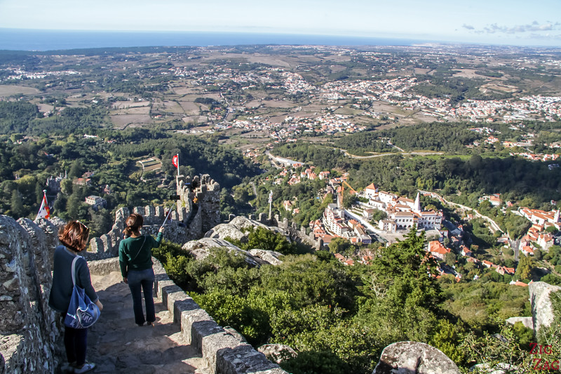 Sintra Castle of the Moors visit 4