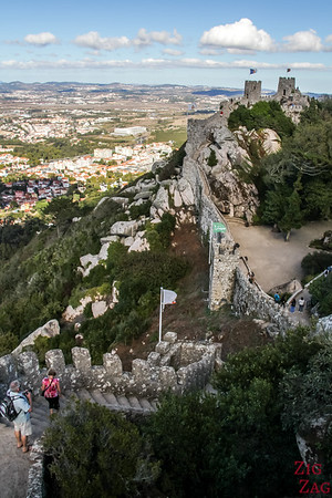 Sintra Castle of the Moors visit 2