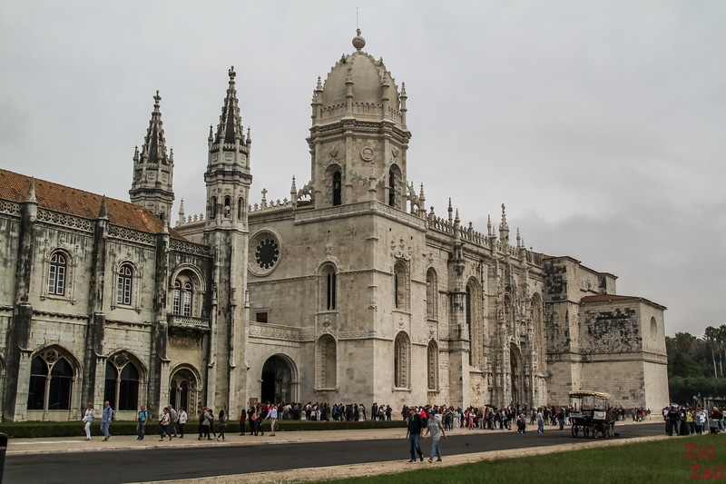 Things to do in Belem Lisbon - Jeronimos monastery exterior